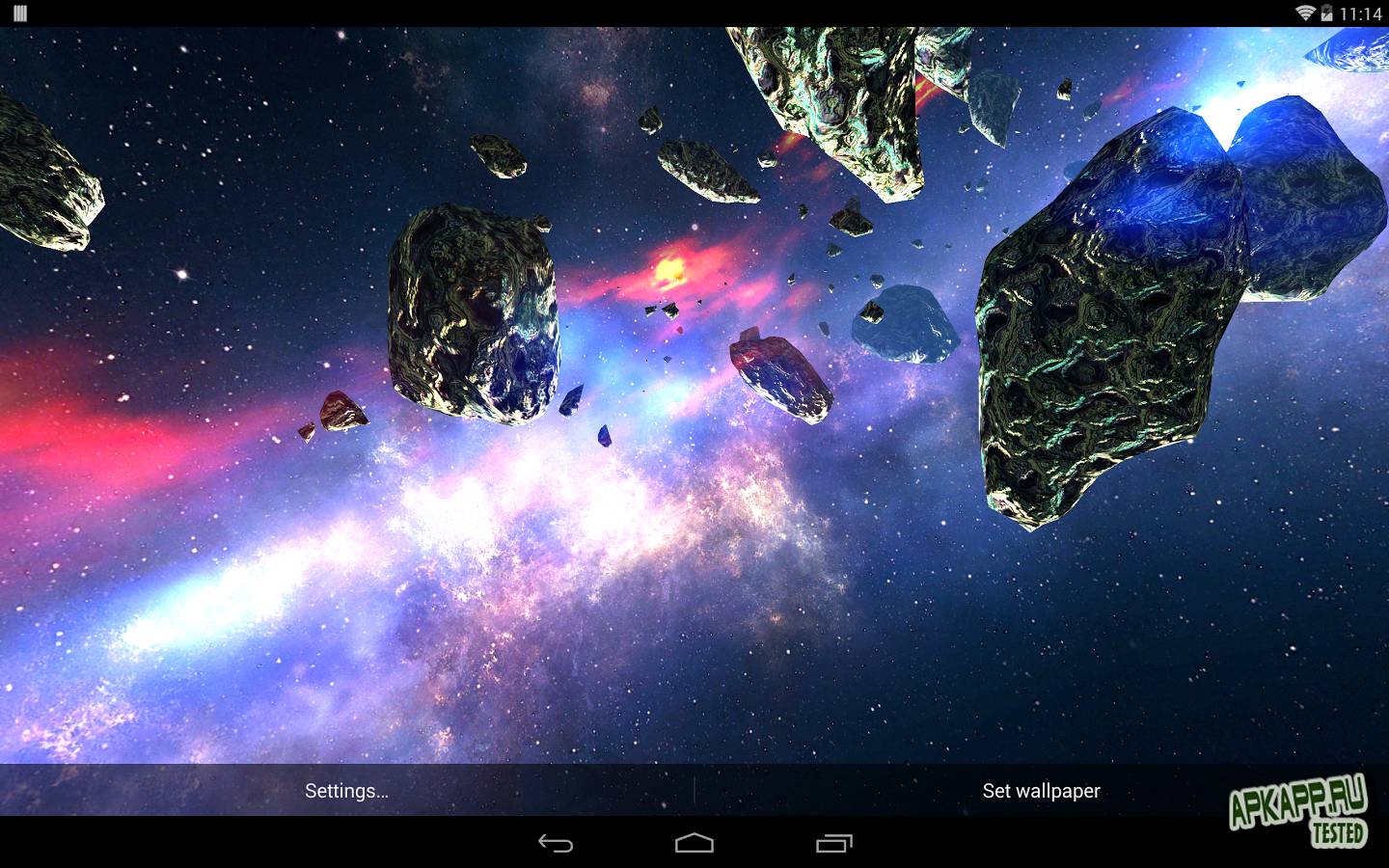 Asteroids Pack v1.1 - Android скачать