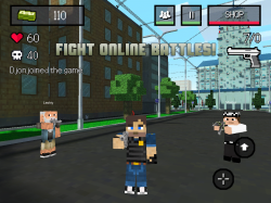 BLOCK WARS - Mine Mini Shooter v1.2