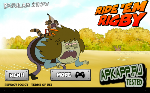 Ride 'Em Rigby - Regular Show v1.0