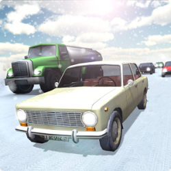 Russian Winter Traffic Racer v1.02