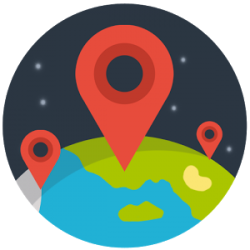 Checkin Friends Map v1.5