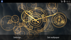 Hypno Clock Live Wallpaper v1.5.7