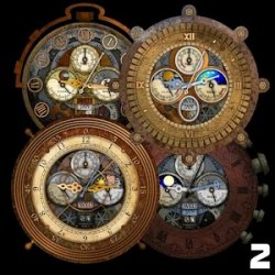 Steampunk Watch Wallpaper 2 v1.4