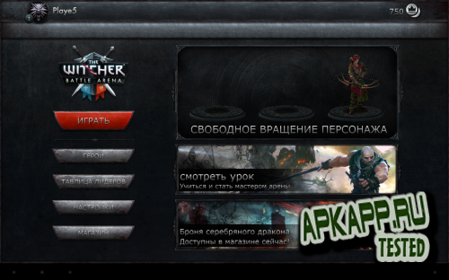 The Witcher Battle Arena v1.0.4
