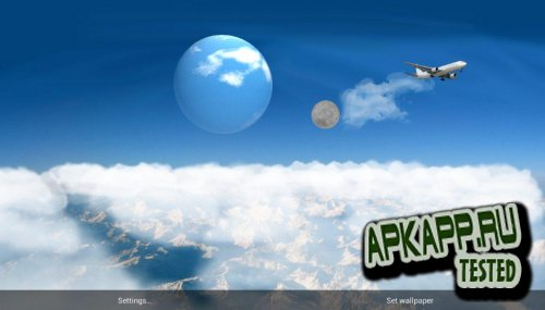 Blue Sky Pro Live Wallpaper v1.0